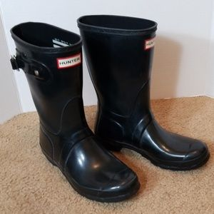 Hunter W Org Short Gloss rain boots